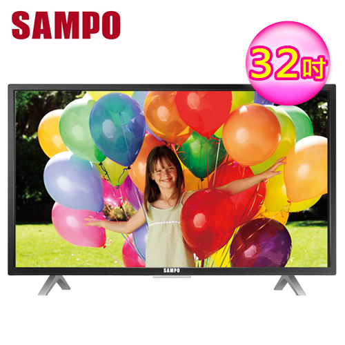 SAMPO 聲寶 32吋LED液晶電視 EM-32CT16D