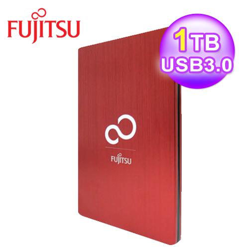 富士通 2.5吋 1T外 接式硬碟-耀眼紅