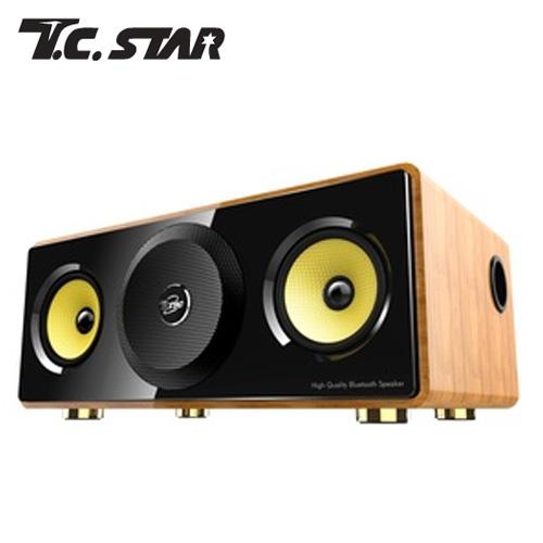 T.C.STAR TCS3000 多功能藍牙喇叭 (檜木紋)