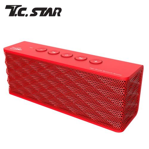 T.C.STAR TCS1000RD 無線藍芽啦叭 紅色