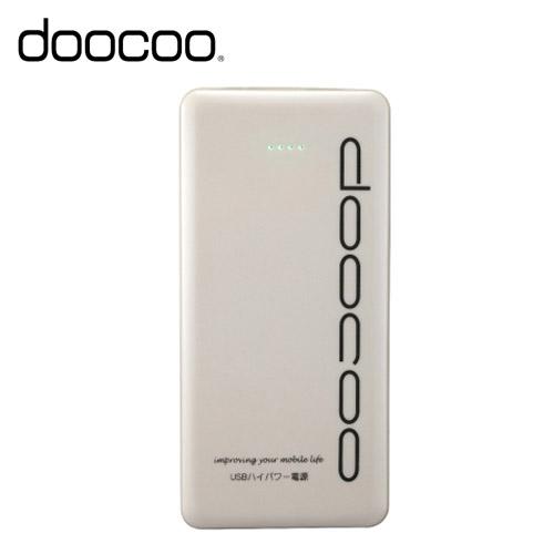 doocoo itablet 3A 15000+ 極致輕薄行動電源 白