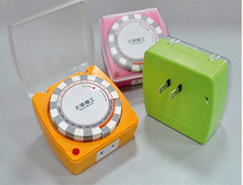太星電工 蓋安全彩色定時器3色