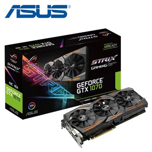 ASUS 華碩STRIX-GTX1070-O8G-GAMING