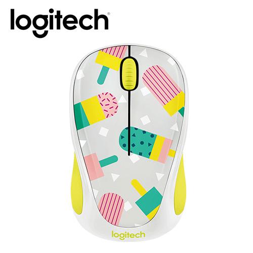 Logitech 羅技 M238 無線滑鼠-甜心冰棒