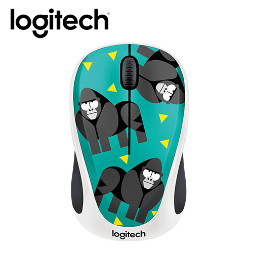 Logitech 羅技 M238 無線滑鼠-大猩猩