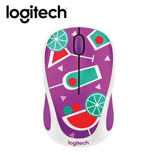 Logitech 羅技 M238 無線滑鼠-雞尾酒