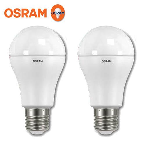 【2入】OSRAM 歐司朗 10.5W LED燈泡 晝光色