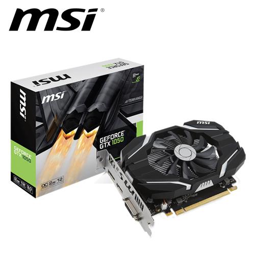 msi 微星 GTX 1050 2G OC 顯示卡