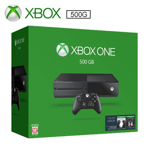Xbox One 單機版 500G 士官長全集同捆