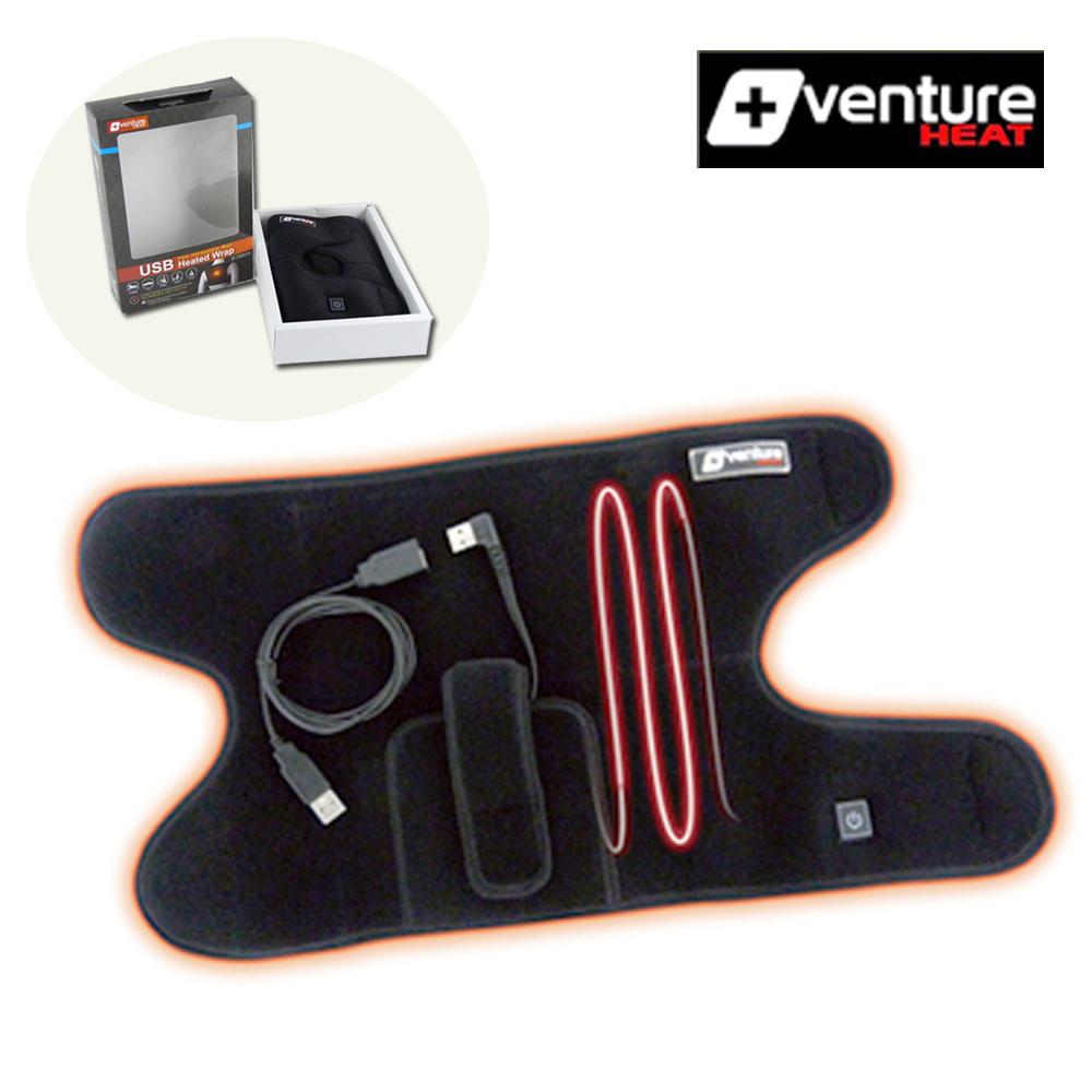 【+venture】USB行動 八合一遠紅外線熱敷墊(E-720UN)精裝版