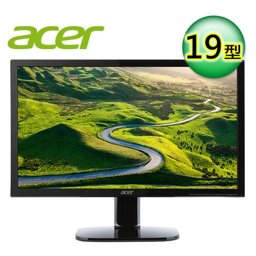 acer 宏碁 KA190HQ 19型 不閃屏濾藍光螢幕