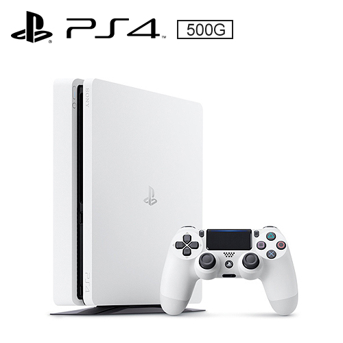 SONY PS4 500G 薄型主機 CUH-2017AB01 冰河白