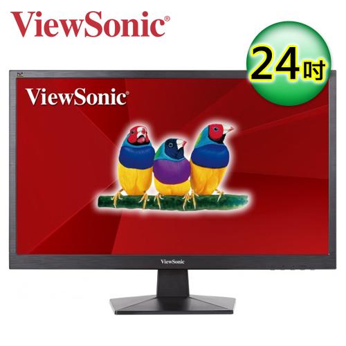 優派 VA2407h 24型 HDMI 寬螢幕顯示器
