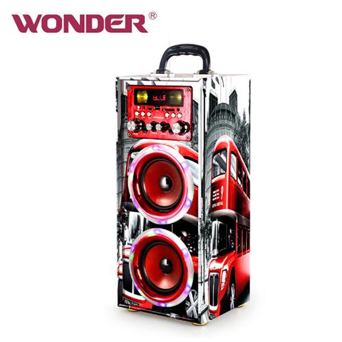 WONDER 旺德藍牙 KTV音響 WS-T024U 紅