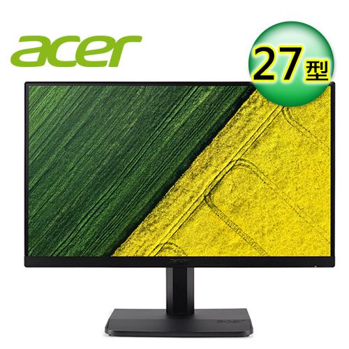 Acer ET271 27型 IPS 窄邊框寬螢幕