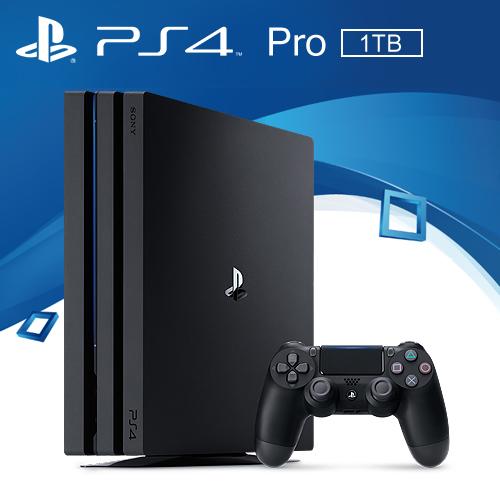 SONY PS4 Pro 1TB 主機 極致黑 7117型 台灣公司貨