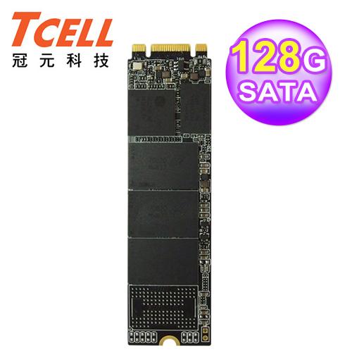 TCELL 冠元 TT650 M.2 128GB 2280 SATA 固態硬碟