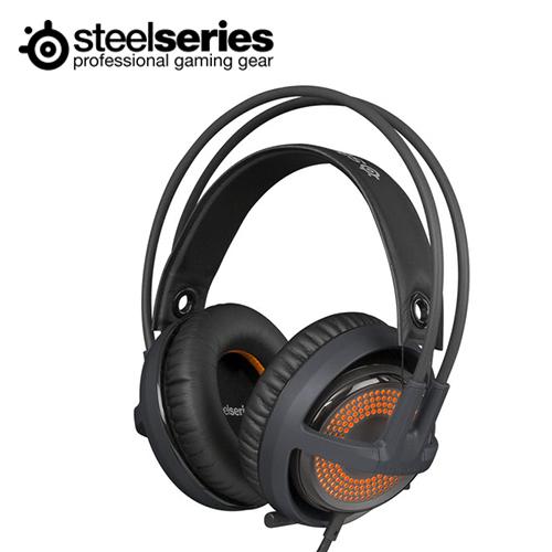 SteelSeries Siberia 西伯利亞 V3 Prism 炫彩版 耳機麥克風(黑色)