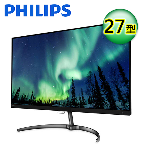 【Philips 飛利浦】27 吋 4K Ultra HD 液晶顯示器(276E8VJSB/96)