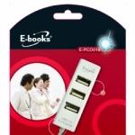 E-books H4巧積木4孔集線器