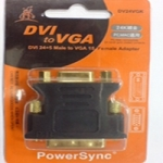 DVI24 5P公VGA15P母轉接