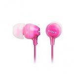 SONY 索尼 MDR-EX15LP-PI 輕巧耳道式耳機 粉