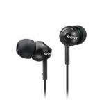 SONY 索尼 MDR-EX110LP-B 耳道式耳機 黑
