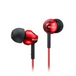 SONY 索尼 MDR-EX110LP-R 耳道式耳機 紅