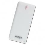 MINIQ 超薄觸控 8000mah 行動電源 白