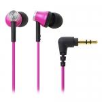鐵三角 ATH-CK330M 耳塞式耳機 粉紅