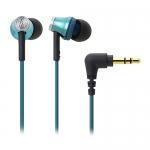 鐵三角 ATH-CK330M 耳塞式耳機 亮藍