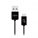 FUJITSU 富士通 MICRO USB傳輸充電線 100CM 黑