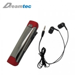 Dreamtec CLIP 夾式立體聲藍牙耳機 ERA-2303 紅