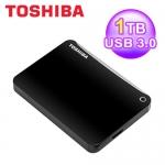 東芝 Toshiba 1T 2.5吋 ConnectII V8 行動硬碟 黑 USB3.0