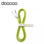 DOOCOO MICRO充電傳輸線 綠