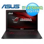 ASUS 華碩 G501JW-0602B 15.6吋 輕薄電競筆電 黑
