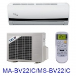 買就送【TECO東元】2-4坪變頻單冷分離式MA-BV22IC/MS-BV22IC