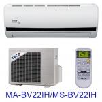 缺貨 買就送【TECO東元】2-4坪變頻冷暖分離式MA-BV22IH/MS-BV22IH