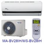 雙重送【TECO東元】4-5坪變頻冷暖分離式MA-BV28IH/MS-BV28IH