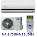 雙重送【TECO東元】5-7坪變頻冷暖分離式MA-BV36IH/MS-BV36IH