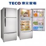 好禮送【TECO東元】600L變頻三門冰箱R6061VXH【古銅鑽】