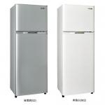 【SAMPO聲寶】250L雙門冰箱SR-L25G(S銀)(W白)-