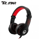 T.C.STAR TCE9100RD 電競頭戴耳機麥克風 紅