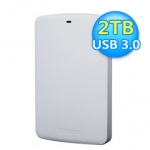 Toshiba 東芝 A2 Basic 2TB 2.5吋行動硬碟 白