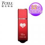 TCELL 冠元 TC040 USB3.0 撲克碟 32GB 紅心Q