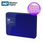 WD 威騰 New My Passport Ultra 2T 外接式硬碟 藍