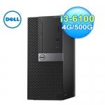 Dell 戴爾 I3-6100 OptiPlex 商用電腦
