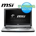 微星 PE60 6QE-822TW 15.6吋 六代筆電