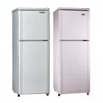 【SAMPO聲寶】140L雙門冰箱SR-L14Q-(粉紅銀R5/典雅銀S1)