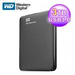 WD 威騰 Elements 3TB 2.5吋行動硬碟